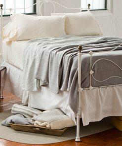 Acadia Blanket, Pewter