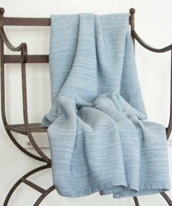 Acadia Throw - Wedgwood