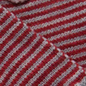 Cafe Cowl swatch - cayenne