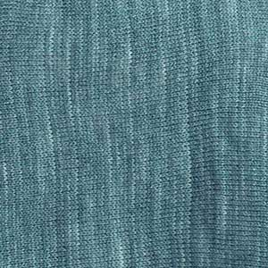 Eastport Ruana swatch - peacock