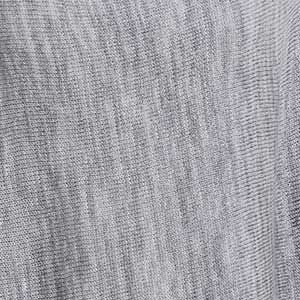 Eastport Ruana swatch - pewter