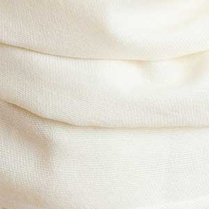 Boothbay Wrap swatch - ivory