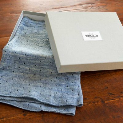 Swans Island Knit Cowl in exclusive linen gift box