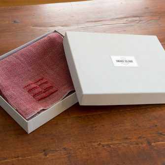 Camden Scarf in linen gift box