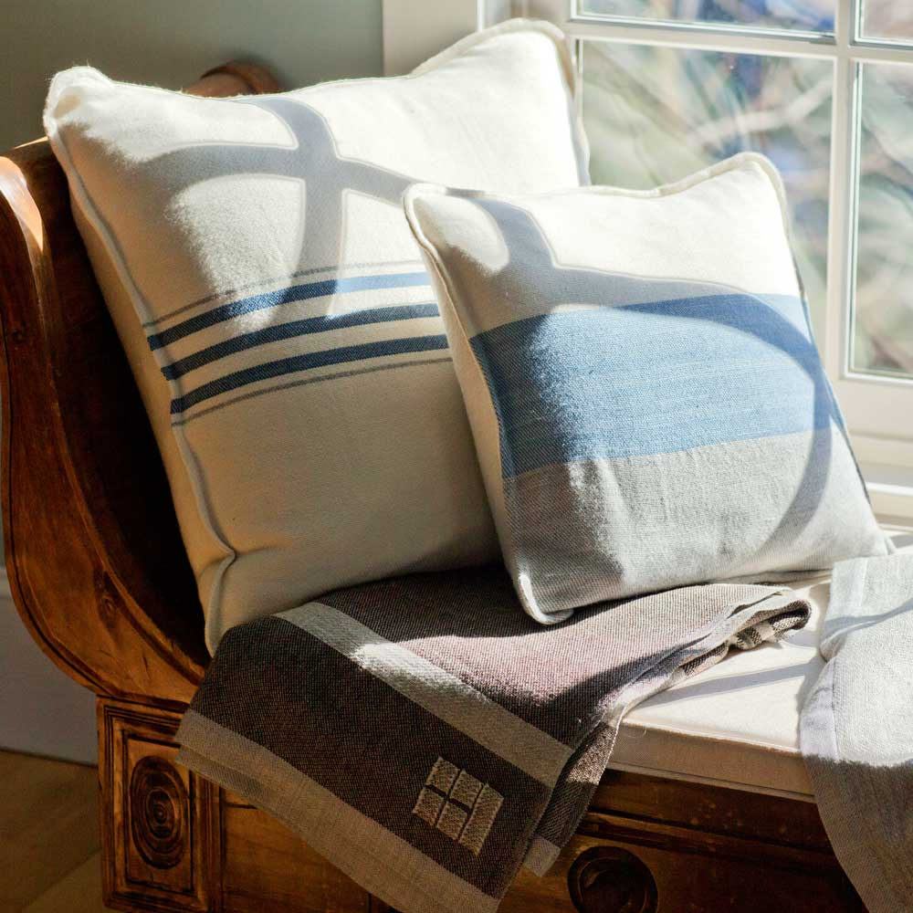 Grace Pillows by Window