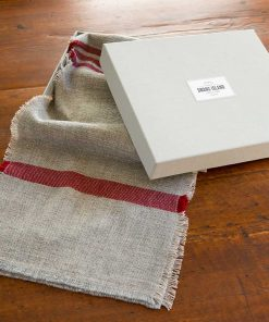 Island Collection Scarf in linen box