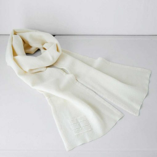 Blue Hill Scarf - white