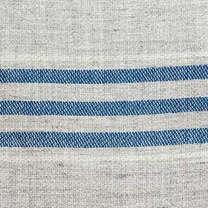 Heritage Blanket swatch - indigo