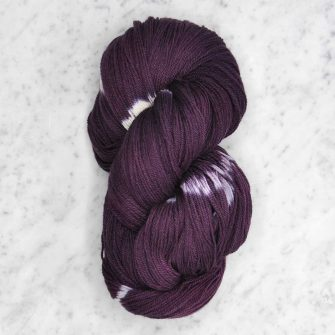 Ikat Firefly fingering - orchid