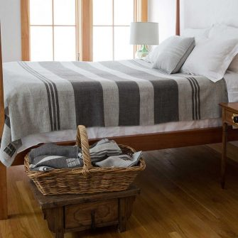 Island Blanket - Long Cove Gray & Rare Brown