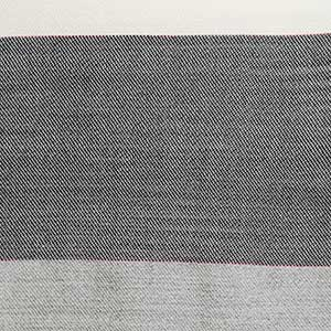 Maine Coast Throw swatch - charcoal