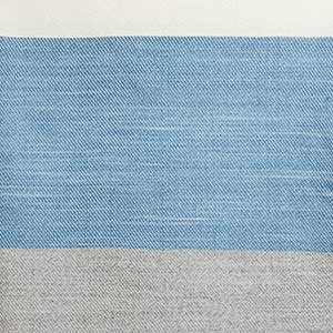 Maine Coast Throw swatch - marine