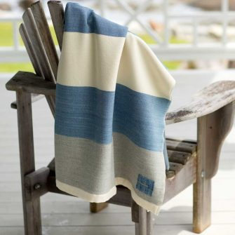 Maine Coast Throw - Marine