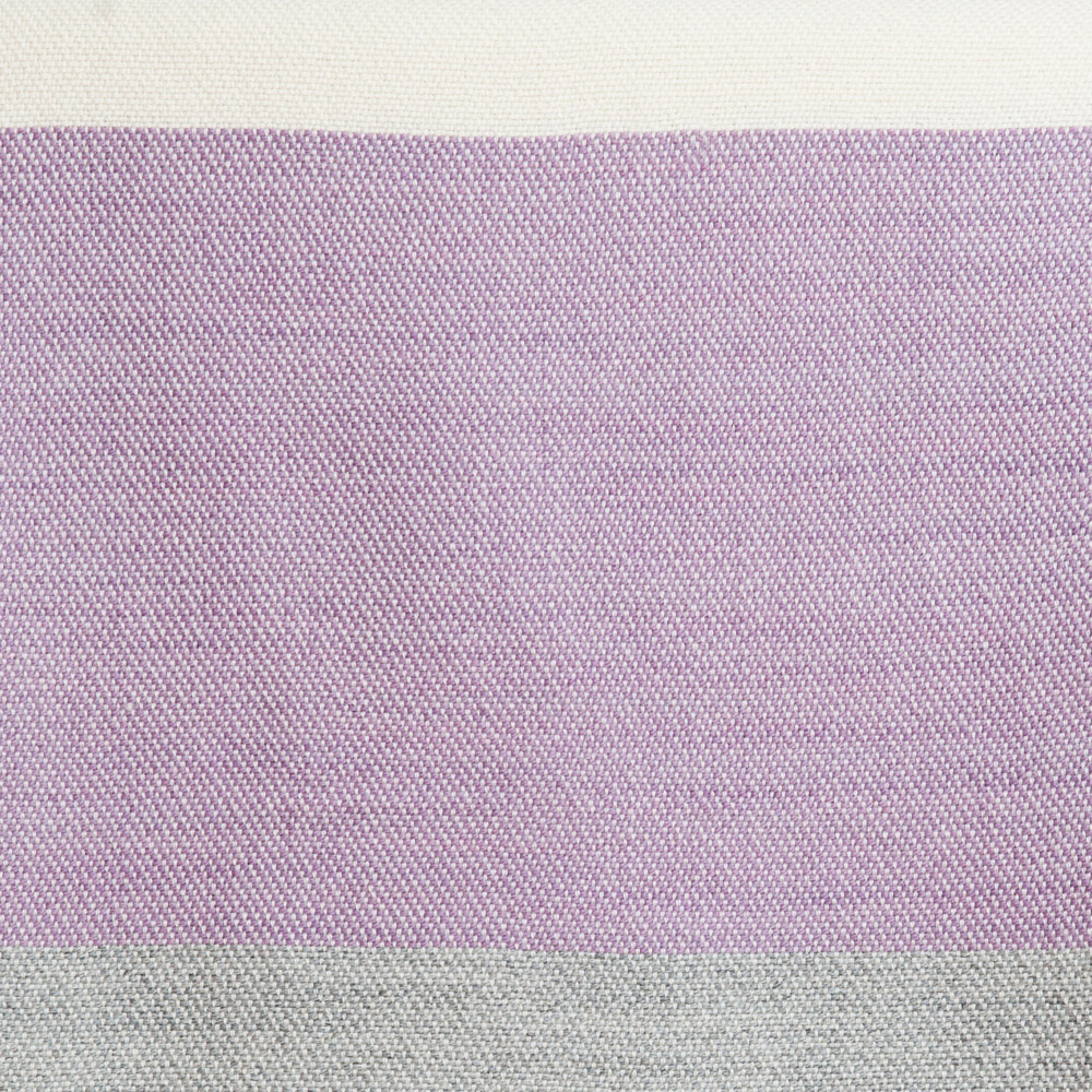 Maine Coast Throw swatch - lilac