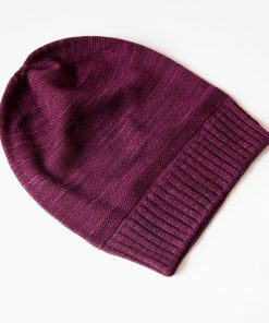 Bar Island Hat - aubergine