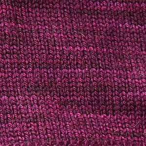 Bar Island Hat swatch - aubergine