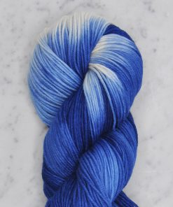Dip Dyed DK - French Blue Natural