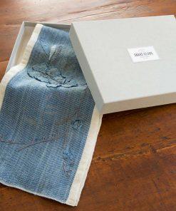 Dayton Scarf in linen gift box