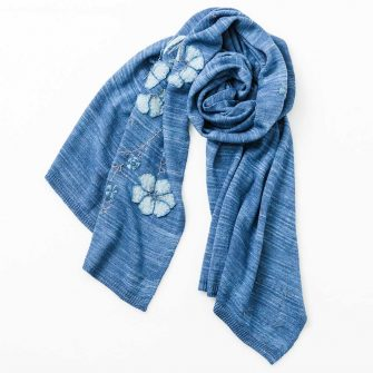 Union Wrap - nautical blue