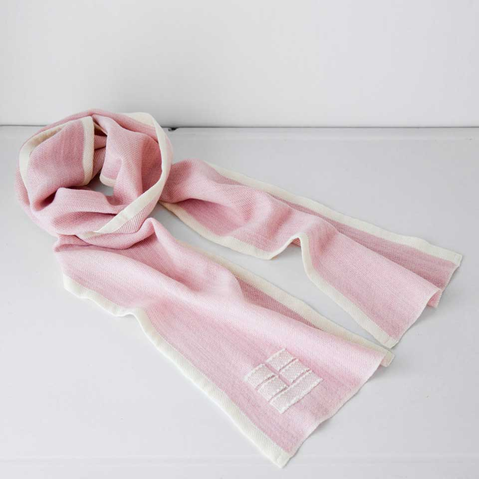 Blue Hill Scarf - rose