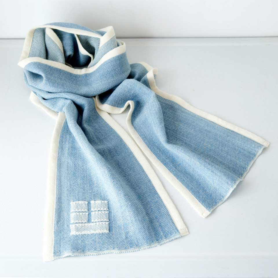 Blue Hill Scarf - Marine