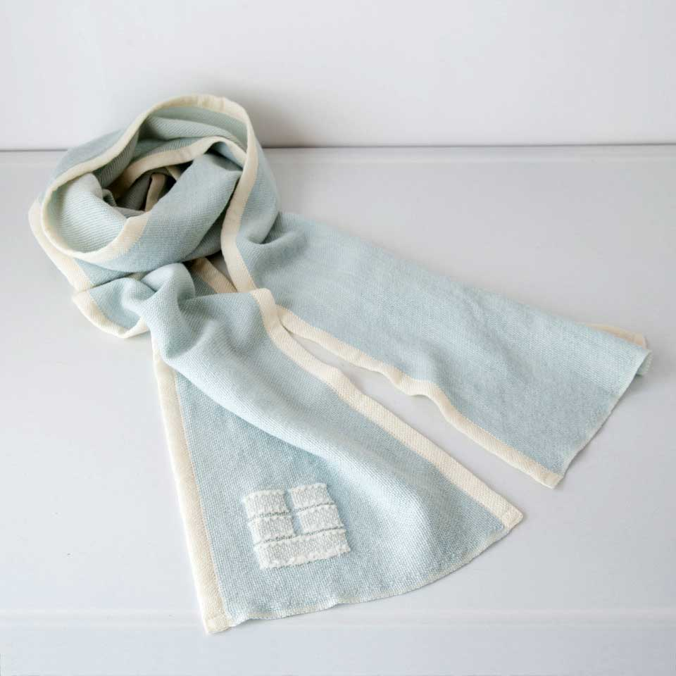 Blue Hill Scarf - Sky Blue