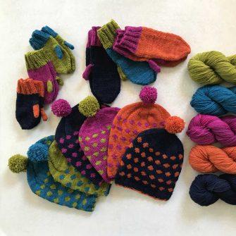 Confetti Hat & Mittens Kit