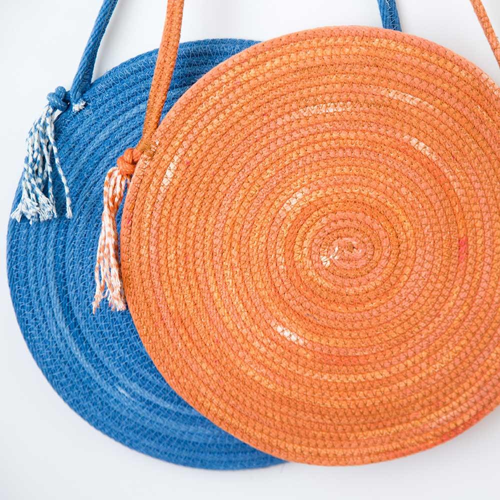 Hey Blue Crossbody Bags