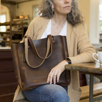 Joppa Leather Tote