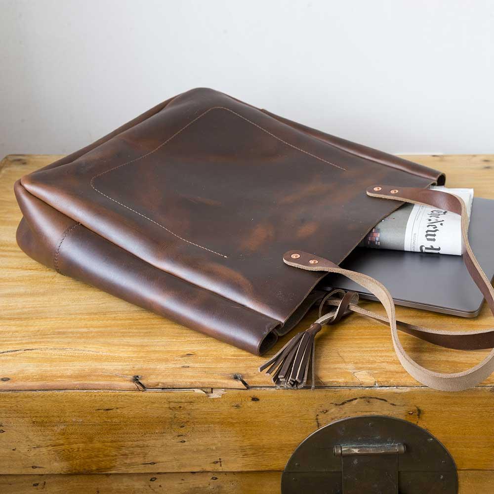 a931ada6058 Joppa Leather Tote