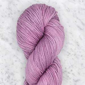 Ombre fingering swatch - wisteria