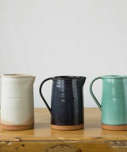 Stoneware Breakfast Pitcher