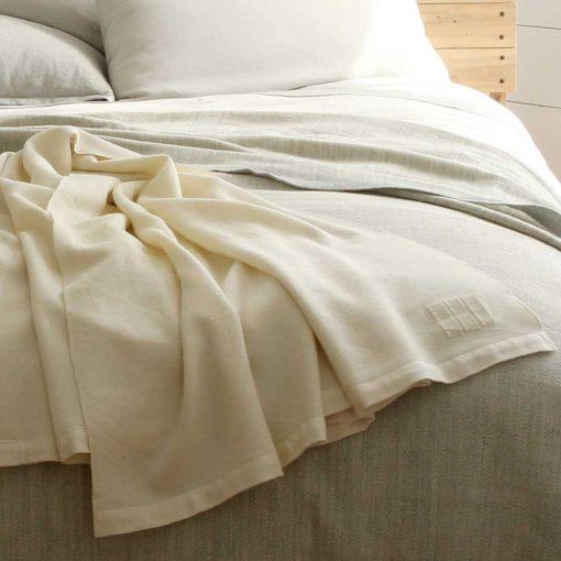 Solstice Blanket - on bed