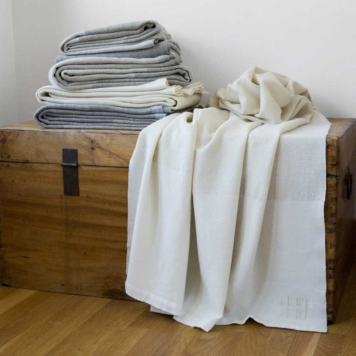Solstice Blankets stacked