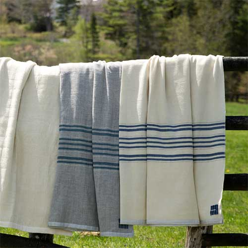 Heritage Blankets on Fence