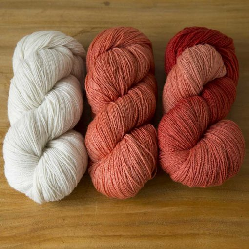 Ombré & Friends Trio - coral