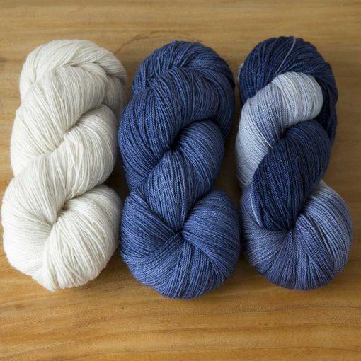 Ombré & Friends Trio - delft blue