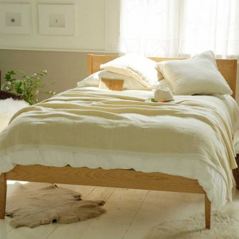 Winter Blanket solid - natural white