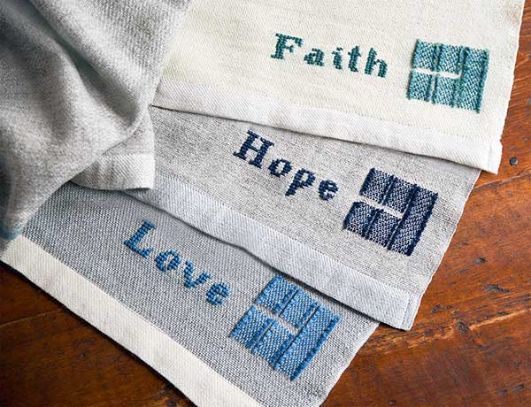 Hope Faith Love monogram
