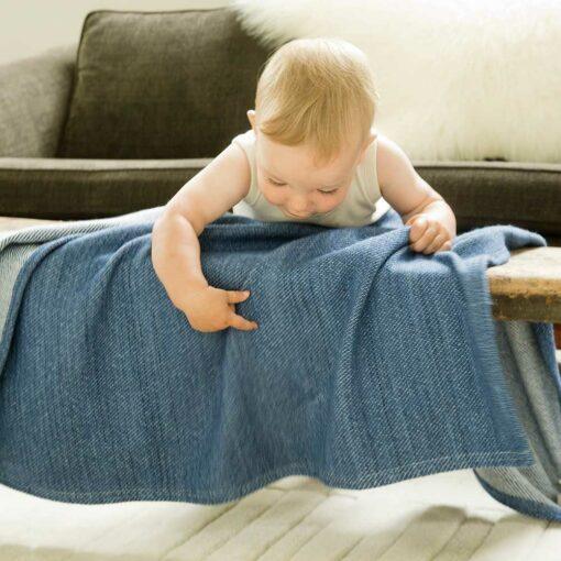 Acadia baby blanket - Swans Island Company