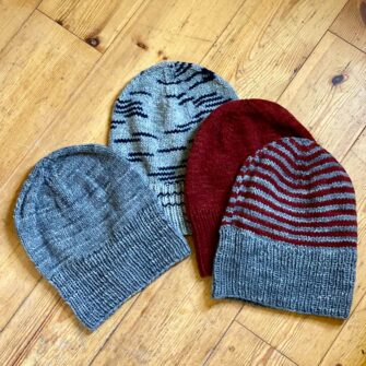 Swans-Island-Handknit-All Amerian Wool -Hats