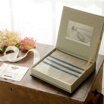 Swans Island Handwoven Throw Gift Box - Lets them choose their favorite blanket!