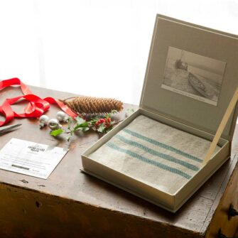 Swans Island Handwoven Blanket Gift Box - Lets them choose their favorite blanket!