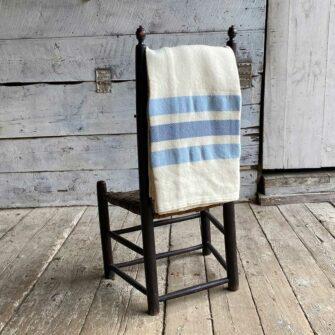 Swans-Island_Border-StripeThrow_100% wool woven in Maine