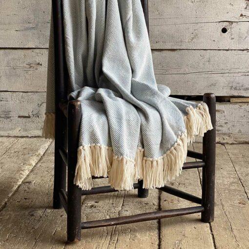 Swans-Island_Savannah-Throw-100% soft American cotton, woven in Maine