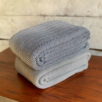 Swans-Island_Belfast-Blankets_100% Cotton blanket woven in Maine