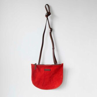 Swans Island has the Seiken Crossbody By Graf Lantz in Poppy