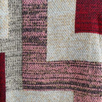 Swans Island's Artisan Patchwork Throw #219 is a one-of-a-kind knit. Made in USA this cozy oversized throw has richly marled yarns. Each one is unique.